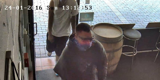Police are seeking help in finding these men.
