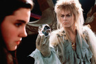 Jennifer Connelly and David Bowie in the cult classic 1986 film Labyrinth.