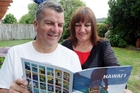 Napier couple Jan and Steve Clark can't wait to go to Hawaii thanks to Air New Zealand's cheap fares. Photo / Paul Taylor