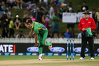 Pakistan's Mohammad Amir bowling. Photo / www.photosport.nz