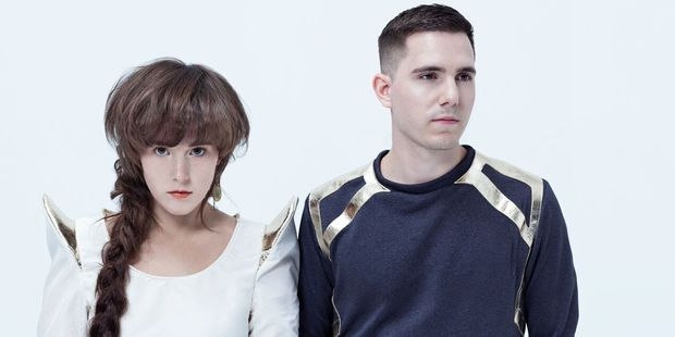 Canadian synth-pop duo Purity Ring are set to perform at Laneway 2016.