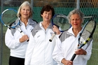 Kay Glenny (left) with Victoria Kerrison and Margaret Hall.