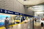 The proposed city rail link Aotea platform. Photo / Supplied