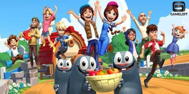 Country Friends, a game developed by Gameloft.