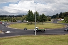 NEW LAYOUT: New markings on the Oropi Rd and State Highway 29 roundabout have left some motorists confused.PHOTO/ANDREW WARNER