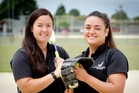 AUSSIE BOUND: Melanie Gettins (left) and Rita Hokianga will be key members of the White Sox team this year. PHOTO/Warren Buckland