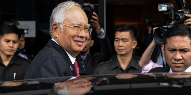 "The Saudi royal family was the source of a 681 million USD ""donation"" that has engulfed Malaysian Prime Minister Najib Razak in scandal. Photo / AFP"