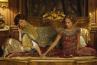 Eddie Redmayne as Lili Elbe and Alicia Vikander as Gerda Wegener, in The Danish Girl.