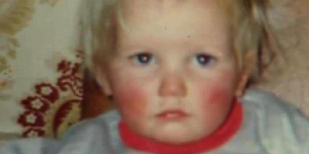 Two-year-old Amber-Lee Cruickshank disappeared in October 1992. Photo / Supplied