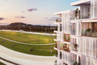 An artist's impressions of the new units at Alexandra Park. Photo/supplied