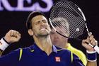 Djokovic has sealed a spot in Sunday's night's championship decider. Photo / AP