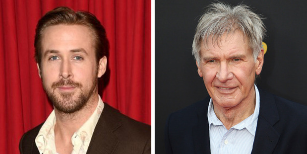 Actors Ryan Gosling and Harrison Ford are set to star in the upcoming Blade Runner movie. Photo / AFP, AP