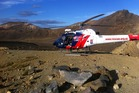 A man was airlifted off the Tongariro Crossing after a fall yesterday.  Photo/Supplied
