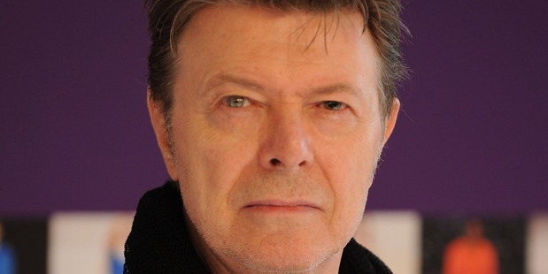 David Bowie may have been working on songs for a new album, following up from Blackstar when he died. Photo / Getty