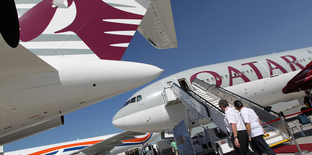 Qatar Airways was tipped to offer a Doha - Auckland non-stop service. Photo / Getty