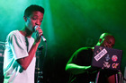 Syd tha Kyd and Matt Martians of The internet. Photo / Getty Images
