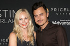 Actress Candice Accola and musician Joe King. Photo / Getty Images