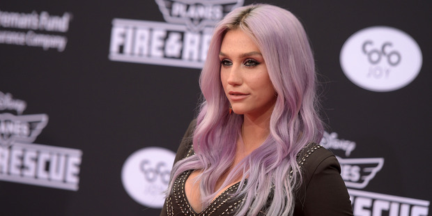 Singer/songwriter Kesha. Photo / Getty Images