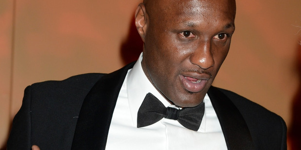 Lamar Odom doesn't remember much of the ordeal he went through following a reported drug overdose at a brothel in Nevada. Photo / Getty Images