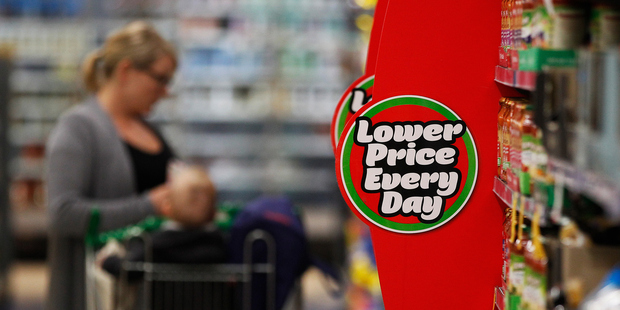 Woolworths was confident it could win the supermarket war in Australia. Photo / Getty Images