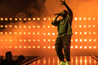 Kanye West has changed the name of his new album from Swish to Waves, making the announcement on Twitter. Photo / Getty