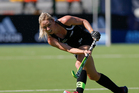 Anita Punt of New Zealand hits the ball. Photo / Getty Images