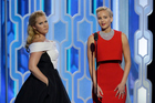 Actresses Amy Schumer and Jennifer Lawrence. Photo / Getty Images