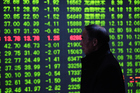 Chinese shares slid on Tuesday back to the original point of a year ago. Photo / Getty Images