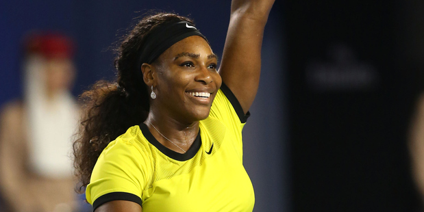 Williams stoops to conquer Radwanska at Australian Open