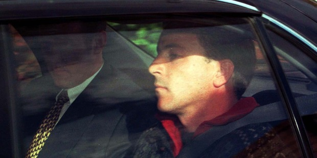 Loading Scott Watson is taken to the Christchurch District Court in 1998 before being charged with the murder of Ben Smart and Oliva Hope.
