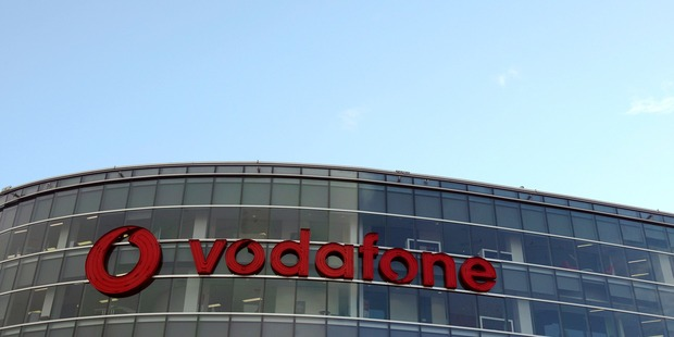 Vodafone headquarters in Auckland. Vodafone users say they are without internet. Photo / Getty Images