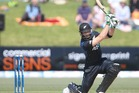 Martin Guptill is in doubt for tomorrow's ODI against Pakistan. Photo / Getty Images.