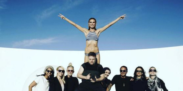 Heidi Klum joined Bendon early last year, after the company ended its 25-year relationship with Elle Macpherson. Photo / Instagram