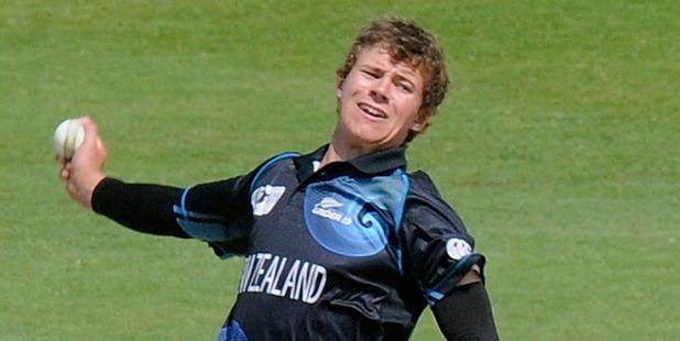 New Zealand skipper Josh Finnie.