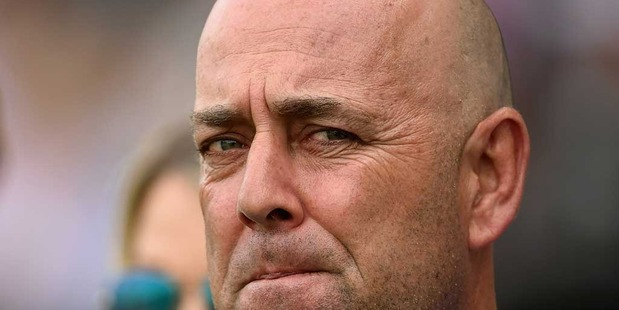 Australian coach Darren Lehmann is suffering from deep vein thrombosis and is likely to be hospitalised. Photo / Getty Images.