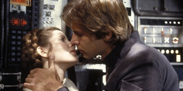 'In the original trilogy, Han Solo gave Leia permission to be vulnerable, flawed and passionate'.