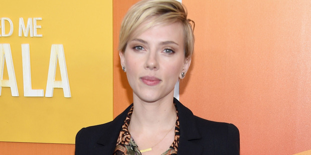 Scarlett Johansson is in New Zealand to film her new movie. Photo / Getty Images