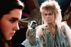 Jennifer Connelly and David Bowie in the classic 80s film, Labyrinth.