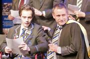 Jake Bailey giving his speech at Christchurch Boys High School. Photo / Simon Brouwer