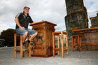 Andy MacDonald, owner of Black Dog Furniture. Photo / Supplied
