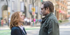 Gillian Anderson and David Duchovny appear supremely disinterested on their return as Scully and Mulder.