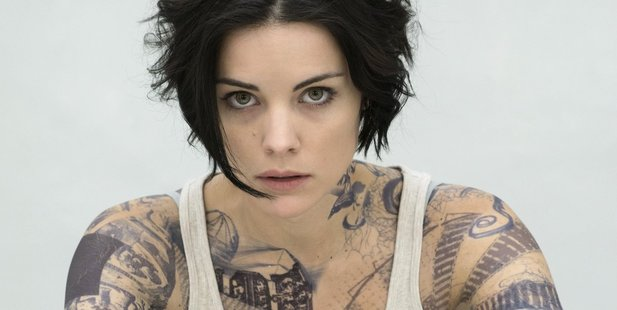 Jaimie Alexander plays Jane Doe who surfaces in Time Square covered in tattoos and with no memory. Photo / Supplied