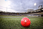 The owner of Dukes cricket balls is coming off the long run to attack Kookaburra's hold on the elite-level ball market in New Zealand. Photo / AP