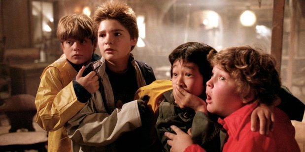 A sceme from The Goonies.