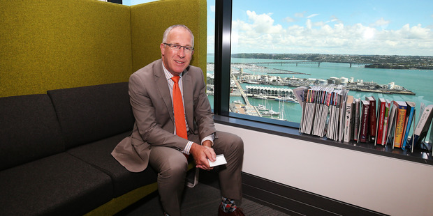 Phil Mulvey , Chief operating officer of Crowe Horwarth at PWC Building, Auckland. 25th January 2016 New Zealand Herald photo by Fiona Goodall / Getty Images