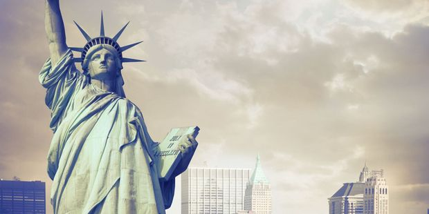 Statue of Liberty in New York. Photo / 123RF