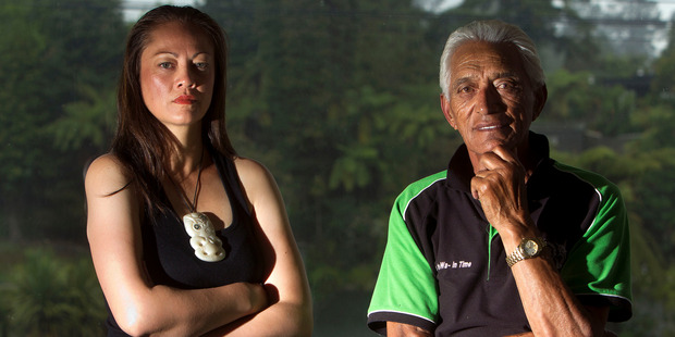 Te Arawa kaumatua Fred Whata and anti-TPP action group chairwoman Marama Meikle will be joining other Rotorua residents in Auckland to protest the signing of the TPP trade deal. PHOTO/BEN FRASER