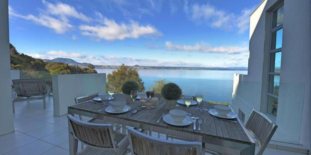 Taupo Penthouse. Photo / Supplied
