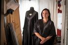 Fashion designer, Kiri Nathan. Photo / Michael Craig
