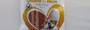 Real chicken dog treats also full of preservatives